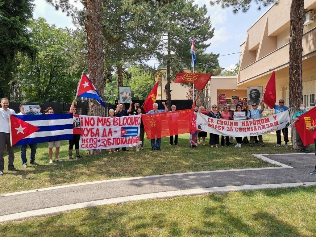 podrška socijalističkoj Kubi